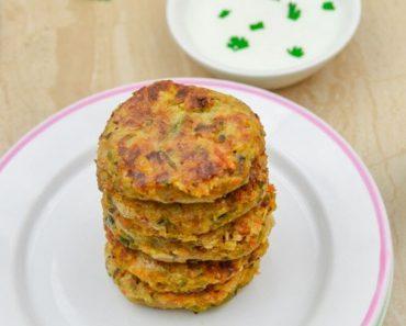 Chickpea Vegetable Patties   Healthy Vegetable Patties for Kids   How to make Vegan Patties