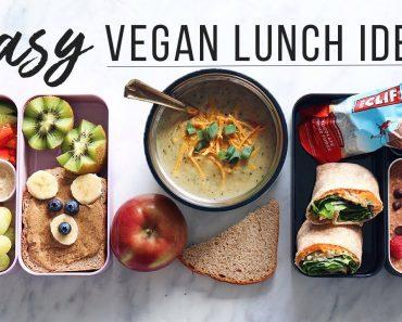 Easy Vegan Lunch Ideas for School, Work & Kids