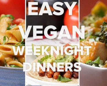 Easy Vegan Weeknight Dinners