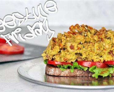 ULTIMATE CHICKPEA SALAD SANDWICH | easy vegan recipe