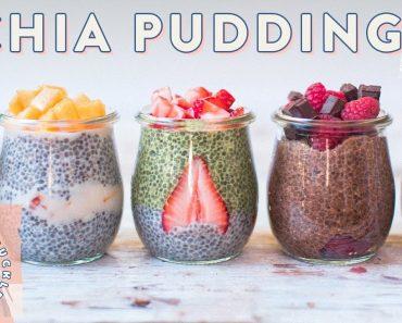 5 CHIA PUDDINGS with So Delicious – VEGAN RECIPE | HONEYSUCKLE