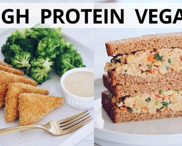 High Protein Vegan Recipes