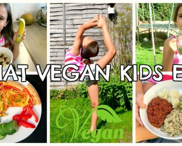 WHAT VEGAN KIDS EAT IN A DAY   8YR OLD
