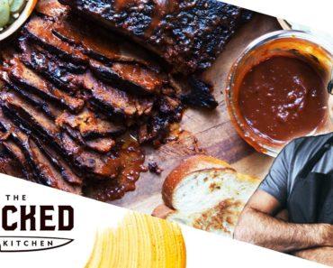 The OG Vegan Brisket – TEXAS BBQ-STYLE SEITAN! 🔥🔥🔥 | The Wicked Kitchen