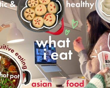 BILINGUAL what i eat in a WEEK🍜 realistic af asian vegan food (healthy & simple) 🥘