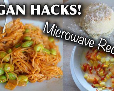 VEGAN FOOD HACKS YOU NEED TO TRY (microwave/dorm-friendly)