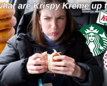 VEGAN FAST FOOD REVIEW *vegan krispy kreme?!*