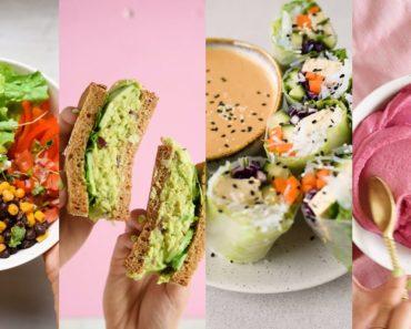 FULL WEEK OF EATING – 20 Easy & Healthy Vegan Recipes