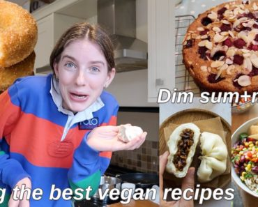 Cooking my subscribers recipes for a week *vegan edition*