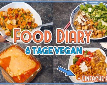 Das alles esse ich in 6 TAGEN – VEGAN FOOD DIARY + einfache Rezepte 🌱