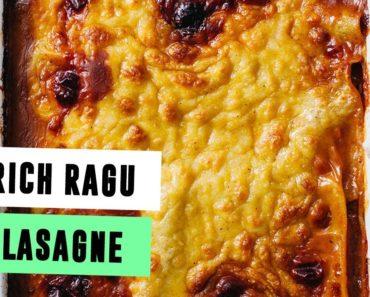 Rich Ragu Lasagne | EPIC VEGAN FOOD | SO VEGAN