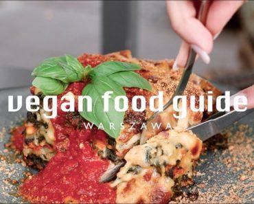 PRZEWODNIK PO WEGAŃSKIEJ WARSZAWIE // vegan food guide