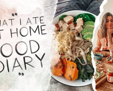 What I ate at home I vegan Food Diary I Annelina Waller