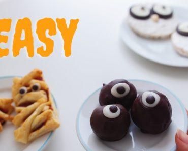 Easy Halloween Treats anyone can make! (vegan)