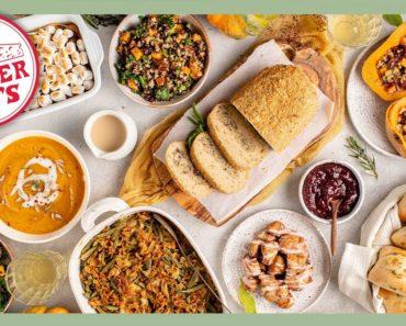 7 Course Trader Joe's Thanksgiving Dinner (Easy Vegan Recipes)
