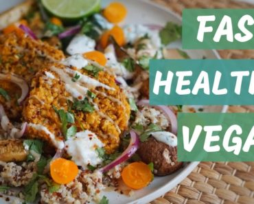 WHAT I EAT ON A WEEKEND w/  Easy VEGAN Recipes :)