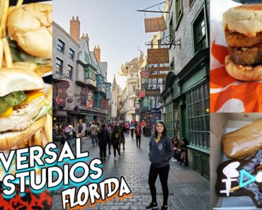 FIRST TIME AT UNIVERSAL STUDIOS ORLANDO & ISLANDS OF ADVENTURE//Vegan Food & Harry Potter!