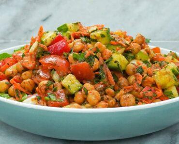 Ultimate Chickpea Salad (Plant-based & Vegan)   How to make Chickpea Salad   Vegan Chickpea Salad