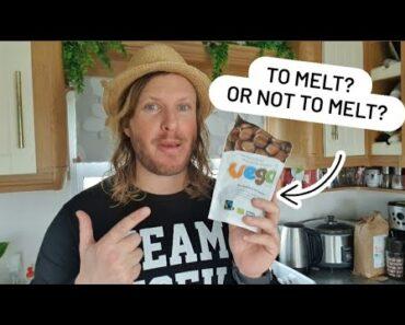 HOTTEST New Vegan Product 🔥 Vego Hot Chocolate Melts   Vegan Food UK
