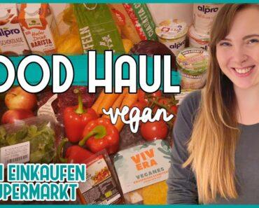 Was ich in einer Woche als Veganerin einkaufe – VEGAN FOOD HAUL 🌱- vegan im Supermarkt 🛒