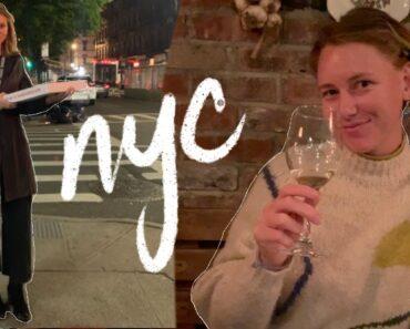 exploring nyc + brooklyn! / the city, vegan food + thrifting!