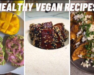 Best Healthy Vegan Recipes For Weight Loss TikTok Compilations