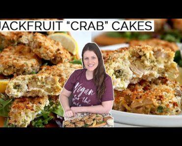 Jackfruit Crab Cakes | Vegan Crabless Cake Recipe
