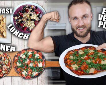 Full Day Of Eating   Easy Vegan Recipes 🍕