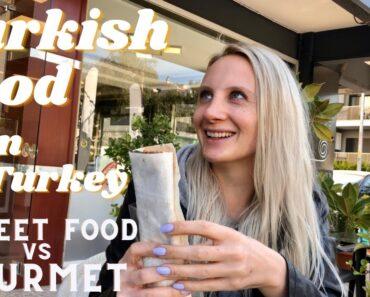 $1 Çiğ Köfte vs $5 Çiğ Köfte // TRYING TURKISH VEGAN FOOD!🇹🇷