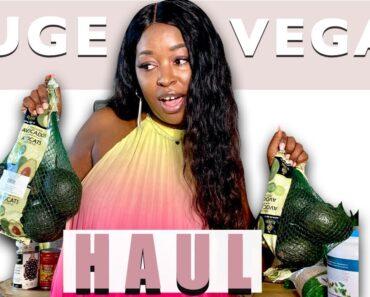 HUGE VEGAN GROCERY HAUL – Healthy Vegan Food 😉 – Healthy Lifestyle 🥰