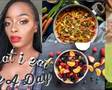 WHAT I EAT IN A DAY | VEGAN FOOD + VITAMIN UPDATE