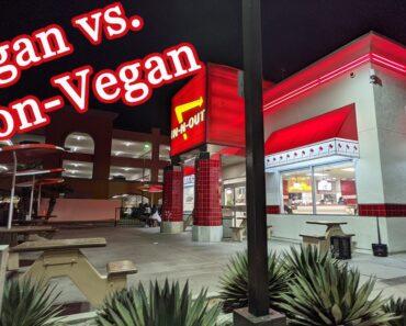 In-N-Out Burger | Vegan & non-vegan food review | Regular & secret menu options | California