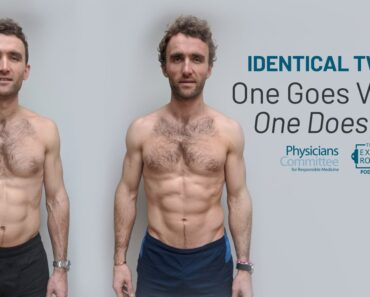 Identical Twins: One Goes Vegan, One Does Not | The Exam Room