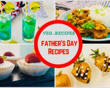 Father's Day food ideas vegetarian | Mother's Day & Father's Day Recipe ideas | Father's Day Menu