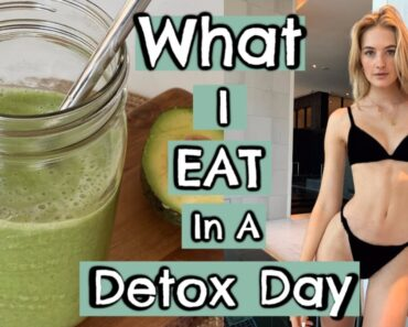 VEGAN What I Eat In A Day As A Model | Plant Based Clean Eating & Body Detox Recipes | Sanne Vloet