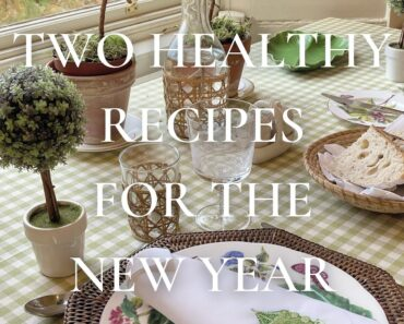 Two Healthy Vegan Recipes For The New Year