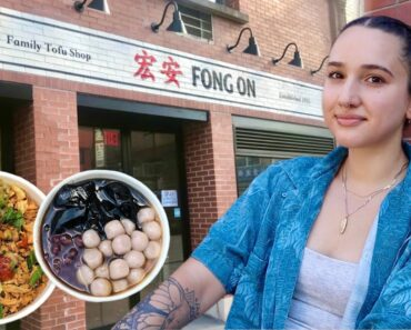 Vegan Options @ Fong On (Oldest Tofu Shop In NYC)