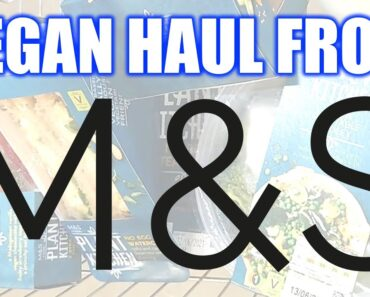 M&S Vegan Haul & Meal Deals – Come Shopping With Us! JUNE 2021
