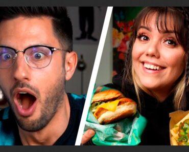 Wir reagieren auf: Ich teste Vegane Fast Food Gerichte! von @Malwanne