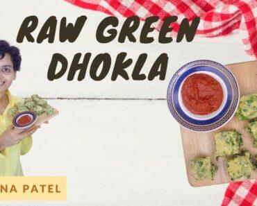 Raw Green Dhokla Dr. Zarna Patel (NDS) [Raw Vegan Recipes]