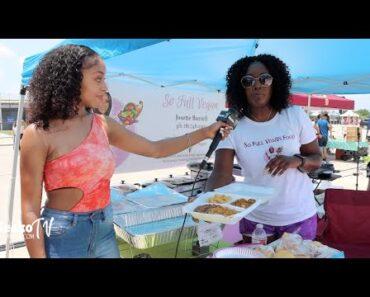 Soul Food Vegan Food at the Vegan Vibez Festival Recap Video MEEKO TV
