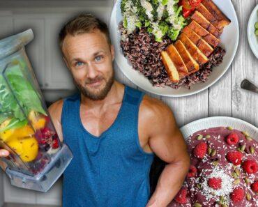 Summertime Vegan Meals   Full Day Of Eating ☀️🌱💪