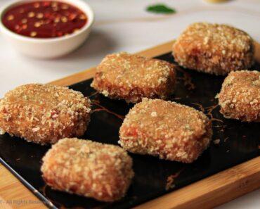 Vegetable Nuggets Recipe by SooperChef | Vegetarian Recipes | Vegan Recipes | Nuggets Recipe #shorts