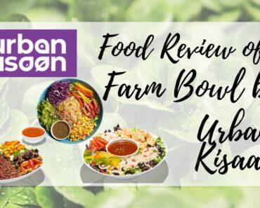 Food Review of Farm Bowl by Urban Kisaan   Healthy food   Vegetarian food