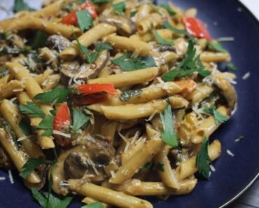 Veggie Chipotle Pasta ( VEGAN Options )- Episode 2040