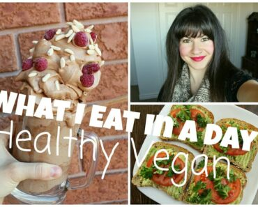 What I Eat in a Day   HEALTHY & EASY VEGAN RECIPES