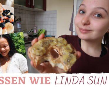 Ich ERNÄHRE mich wie LINDA SUN | peanut butter, yummy vegan food inspo