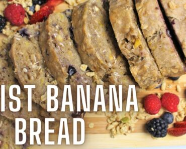 Vegan Banana Bread | Banana Bread | Easy Banana Bread Recipe | Vegan Recipes | Vegan Bread