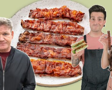 we tested gordon ramsay's viral vegan bacon 🥓 is it worth it?