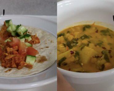 2 New Vegan Recipes 🌮 🍛